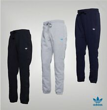 Mens Adidas Originals Trefoil Logo Brushback Fleece Joggers Sizes from S to XL