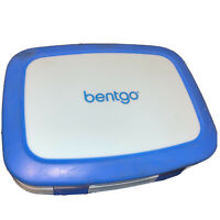 Bentgo Kids Leakproof 5-Compartment Lunch Box - Blue - VG - Locks, Hard, Compact