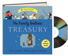 Family Bedtime Treasury w/CD Five Little Monkeys, Napping House,Goodnight Train