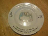 Wedgwood Peter Rabbit China Plate Vintage 6 3/4""