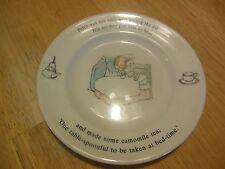 "Wedgwood Peter Rabbit China Plate Vintage 6 3/4"""