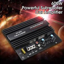 12V 600W Car Audio Mono amplifier Board DIY Home Subwoofer Super Bass Amp AUX US