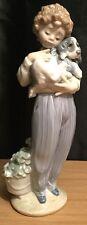 Lladro Buddy Figurine Boy With Dog