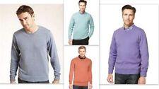 Markenlose Herren-Pullover aus Baumwolle mit regular Länge