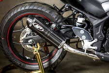 M4 Exhaust Yamaha R3 2015 - 2017 Full System Race/Std with CARBON Canister
