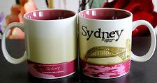 New Starbucks Coffee Mug Collector Series Sydney City Mugs 16oz