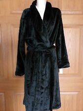 GILLIGAN & O'MALLEY WOMENS MISSES BLACK ROBE SOFT SIZE XL 2XL NEW
