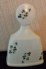 Carrigaline Pottery Co. Dinner Bell, Shamrocks, Cork, Ireland 5 1/8""