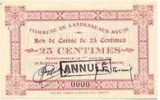Landenne sur Meuse  25 cent. rare  nr 0000