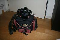 NIKON D3000 FOTOCAMERA REFLEX DIGITALE + OBIETTIVO NIKON 18-55mm + sd 16gb