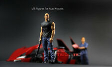 1/18 FF Fast & Furious Resin Figure Dom 1 piece for Auto Models
