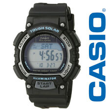 Casio Women's STL-S300H-1ACF Solar Runner Digital Displayqtz Black Watch, New