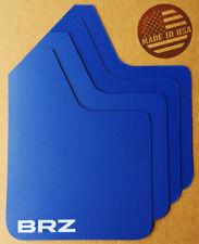 [SR] STARTER Mud Flaps Set BLUE with Custom Vinyl Logo C
