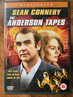 The Anderson Nastri DVD 1972 Classico Rapina Robbery Thriller W / Sean Connery
