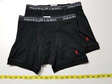Polo Ralph Lauren Boxer Briefs - 2 Briefs - Black - Small