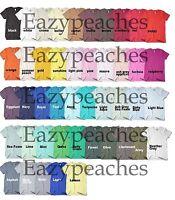 American Apparel Unisex Size XS-L XL XXL Crew Neck 100% Fine Cotton T-Shirt Tee