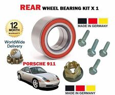 FOR PORSCHE 996 911 CARRERA 4 S GT3 GT2 2000-2005 NEW 1x REAR WHEEL BEARING KIT