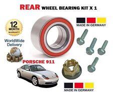 FOR PORSCHE 996 911 CARRERA 4 S GT3 GT2 2000-2005 NEW 1x REAR WHEEL BEARING KIT