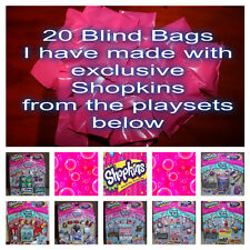 Shopkins 20 x Blind Bags with exclusive Shopkins from playsets - Lots of FUN!!!!