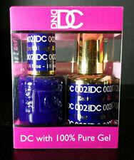 DND DC Soak Off Gel Polish Earth Day 002 LED/UV 6oz 18ml Gel Duo Set NEW