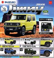 SUZUKI JIMNY 2019 cars collection complete set (4pcs) 1/64 From Japan F/S NEW