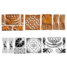 Lotus Border - Wood type, 29 pieces