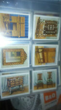 W.D & H.O Wills The Kings Art Treasures  FULL SET of Cigarette Cards