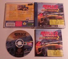 Jeu Monaco Grand Prix : racing simulation 2  SEGA DREAMCAST - complet - PAL FR