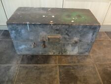More details for old wooden tool/military box