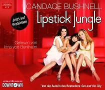 Lipstick Jungle, 4 Audio-CDs von Candace Bushnell (2009) NEU&OVP!!!