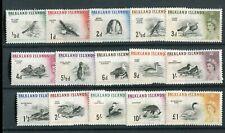 Falkland Islands QEII 1960-66 set of 15 SG193/207 MNH