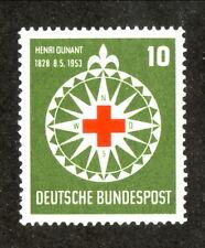 Germany-#696 Mnh-Henri Dunant-1953