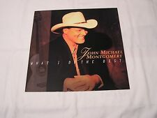 John Michael Montgomery Promo Flat-WHAT I DO BEST