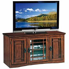 Leick Furniture 82350 Riley Holliday Mission Tall TV Stand-50-Inch-Oak