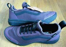 Vans Mens UltraRange AC Catawba Grape Black Suede Mesh Skate shoes Size 8 NWT