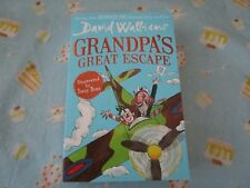 Grandpa's Great Escape by David Walliams Illustrated by Tony Ross (paperback
