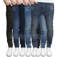 Westace Men's Designer Branded Stretch Slim Fit Straight Leg Jeans, BNWT