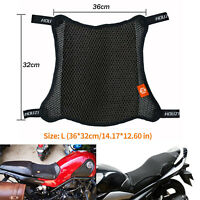 Motorcycle Seat Air Cushion Cruiser Pad Rider Pressure Relief Pad Airbag Cover