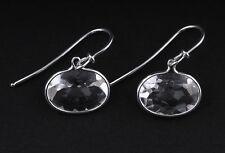 Georg Jensen Sterling Silver Savannah Earrings w. Rock Crystal # 628A, V. Torun.
