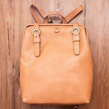 Rucksack, Back bag, Handmade, Full-grain Leather