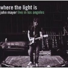 "JOHN MAYER ""WHERE THE LIGHT IS: JOHN MAYER..."" 2 CD NEU"