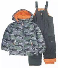 New OshKosh Boys  2 Pc Ski Jacket and Snowbib Snowsuit...
