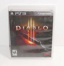 Diablo III (Sony PlayStation 3, 2013) COMPLETE