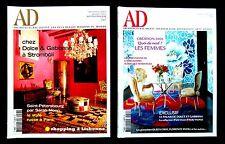 Magazine AD ARCHITECTURAL DIGEST - DOLCE et GABBANA - 2003 et 2006 - en Français
