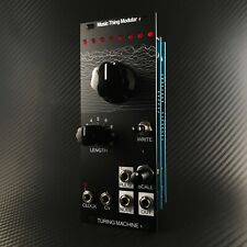 Music Thing Modular Turing Machine Mk II 2 Black Aluminium 10hp Eurorack Module