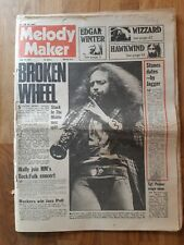 Melody Maker newspaper June 30th 1973 Jethro Tull Sgt pepper stage show cover