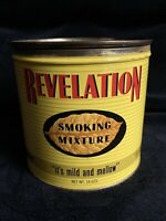 Vintage Revelation tobacco Tin Excellent Condition