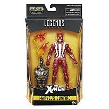 "Marvel Legends XMEN MARVEL'S SUNFIRE 6"" Figure BAF WARLOCK"