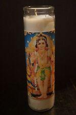 Prayer Altar Candle KARTIKEYA MURUGAN Skanda कार्त्तिकेय Subramnya Free Shipping