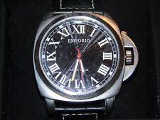 Emporio Moda Italia 8102L Men's Watch In Box Leather Band Pre-Owned